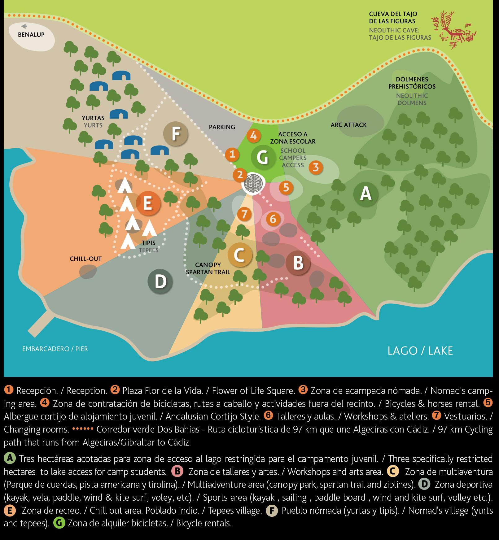 Mapa Wakana Lake